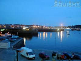 French Harbour at Dusk by squishy2004
