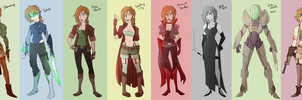 Outfit Challenge: Amelia by AndrewMartinD