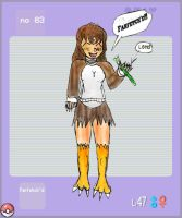 Farfetch'd human form lol by stabartist