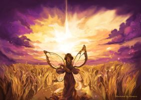 Wheat Fairy by sin213yee