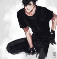 Kuro Kuroo by judahl