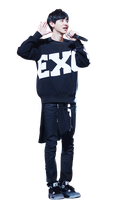 Chanyeol (EXO) png by MilenaHo