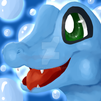 Totodile by Suxray