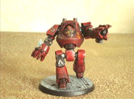Blood Angels Contemptor dreadnought by GeorgeFah