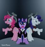 Twilight the Kid and the Pony Sisters by RuberPhoenix