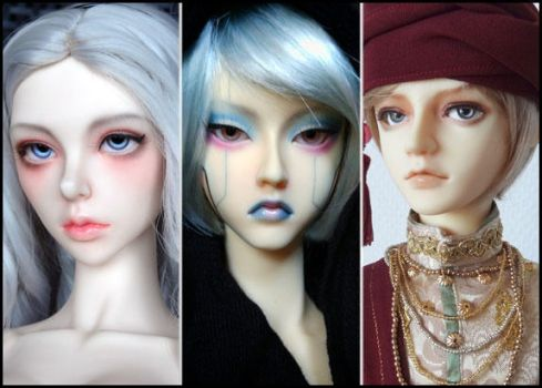 Dolls for sale by Lelahel-Clothes