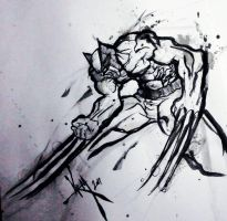 wolverine sketch by Madpenciler