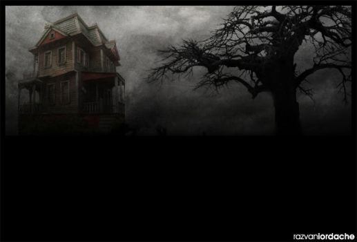 The haunted house by skateidl