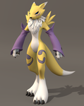 Renamon 2.7 WIP by Mikiel2171