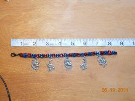 Fire and Ice Bracelet by simplysyd