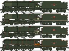 MFSC 1948 Type 4-6-0s by Lapeer