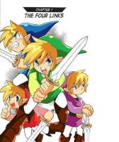 Four swords Color by HyruleHistorian