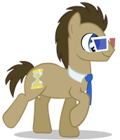 Doctor Whooves Vector by cool77778