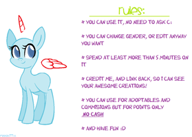 Mlp Base 01 by NikkiKittyx