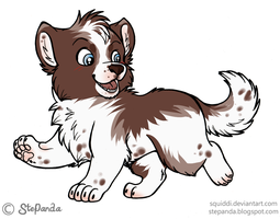 adoptable border collie CLOSED by CelesticAdopts