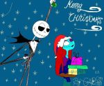 Merry Christmas- Jack n Sally by gabs94