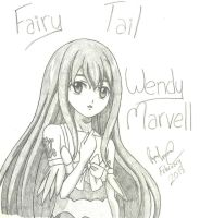Wendy From Fairy Tail by RyanPaul123