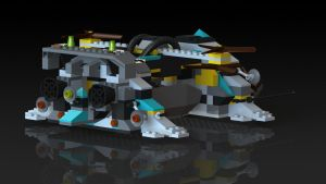 Tunnel Transport Rear in Final Colors by Tau-Crisis