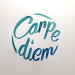 Carpe diem Calligraphy by pica-ae