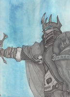Lich King Painting by gamerman77