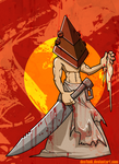 Pyramid Head likes it dirty by desfunk