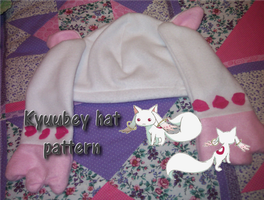 Kyuubey hat pattern by ninjapet
