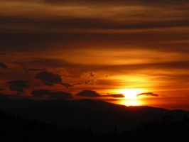 Brasov sunset by paolica