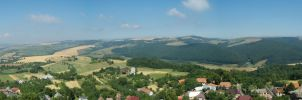 Beautiful view from old castle by katik235