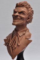 Batman Joker Bust Revised 3 by AntWatkins
