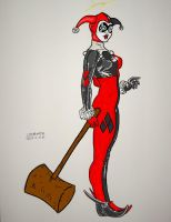 HARLEY QUINN COLORED2 by NOMAD316