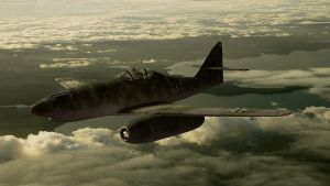 Messerschmitt Me 262 by melkorius
