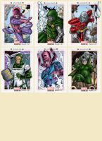 Marvel Bronze Age - Fantastic Four Villains by tonyperna