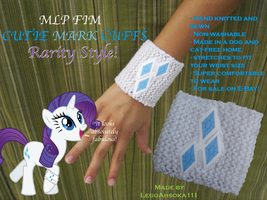Cutie Mark Cuffs: Rarity Style by InkRose98