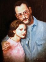 Natalie Portman and Jean Reno by float-cloud