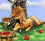 Applejack by Geminas0wng