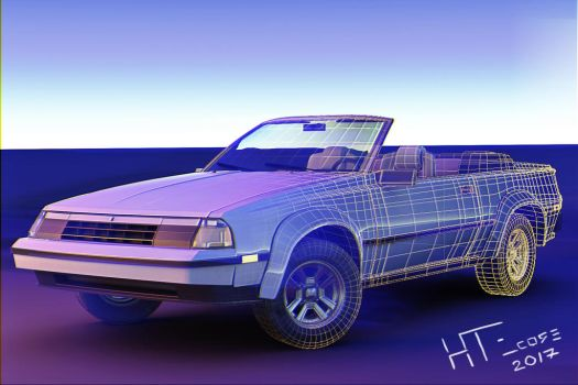 1985 Toyota Celica GT-S Convertible by HTECORE