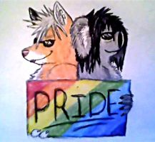 Fuck your swag, we have pride. by TechnicolorYawns