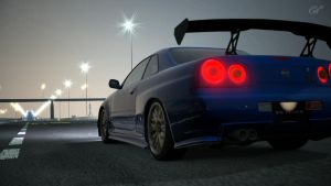 GT5 - Nissan Skyline R34 '02 2 by Kevster823