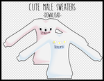 Cute Male Sweaters [DOWNLOAD] by Aia-Aria