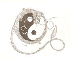 Yin and Yang 2 by shadow7wolf
