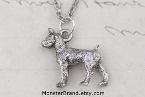 Boxer Dog Necklace by foowahu-etsy