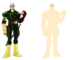 Avengers Baron Strucker base by roland010