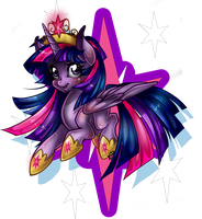 Princess Twilight Sparkle by ParkaPassions