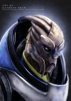Garrus Vakarian - Mass Effect by whatever-kathryn