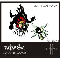Patapon Lilith and Anakim by Yuki-Myst