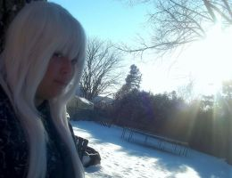 jessica frost and  Sun =D by jessthecase88