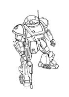 lineart: AT Votoms by Darcad