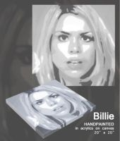 Rose or Billie Piper POP ART by adrianpatrick