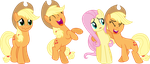 Applejack Laughing: The Trilogy by V0JELLY