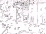 Rockridge (basic concept sketch) by JennytheJackass